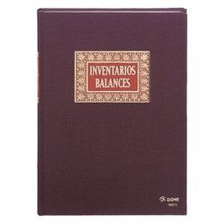 LIBRO INVENT./BALANC. FOLIO NATURAL DOHE 09915