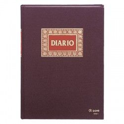 LIBRO DIARIO DOBLE FOLIO NATURAL DOHE 09901
