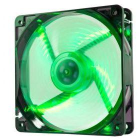 NOX CoolFan 120mm LED Verde, Ventilador de 12cm