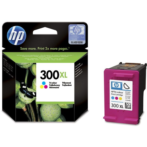 HP 300XL TriColor Original CC644EE con Vivera Ink ALTA Capacidad