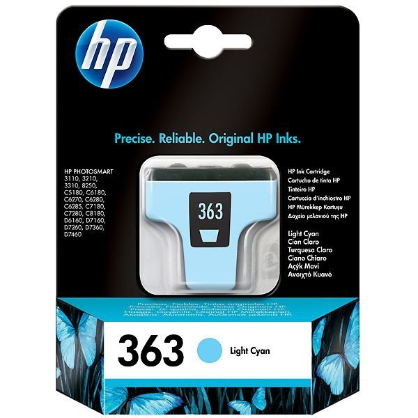 HP 363 Light Cyan Original C8774EE