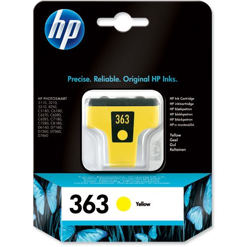 HP 363 Amarillo Original C8773EE