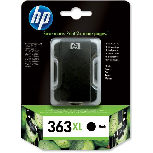 HP 363XL Original Negro C8719EE