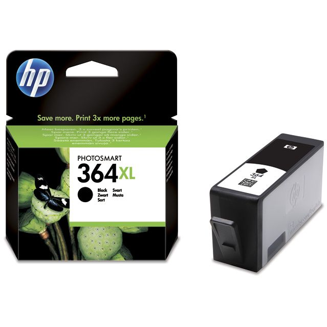 HP 364XL Negro Original con Vivera Ink CN684EE